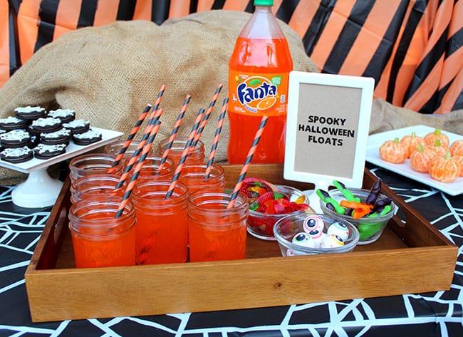 halloween-orange-soda-float-dessert-idea - Popsicle Blog