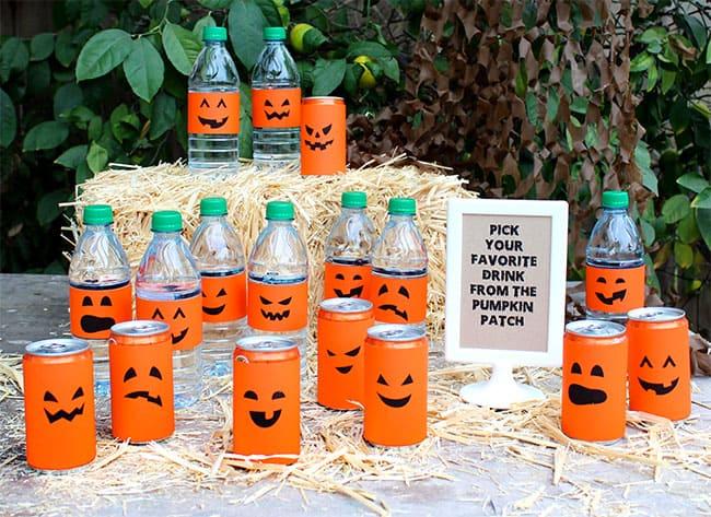 Halloween Drink Pumpkin Patch #spookysnacks