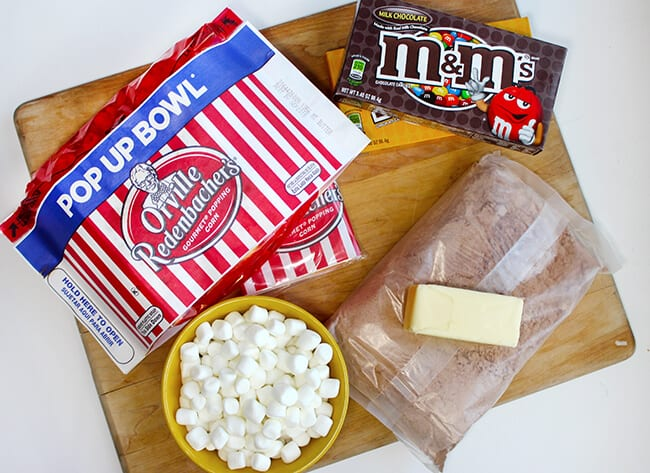 How to Make Popcorn Brownies