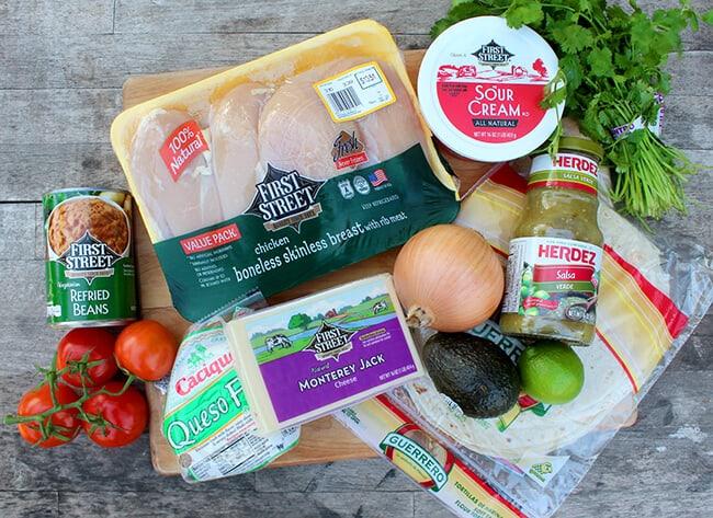 How to make chicken verde