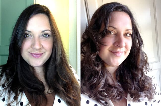 before after curl secret