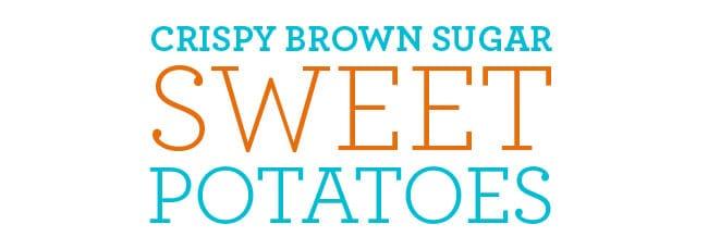 brown sugar sweet potato recipe