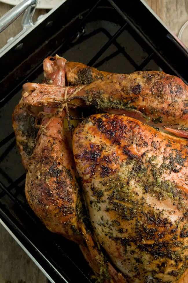 citrus herb roasted turkey