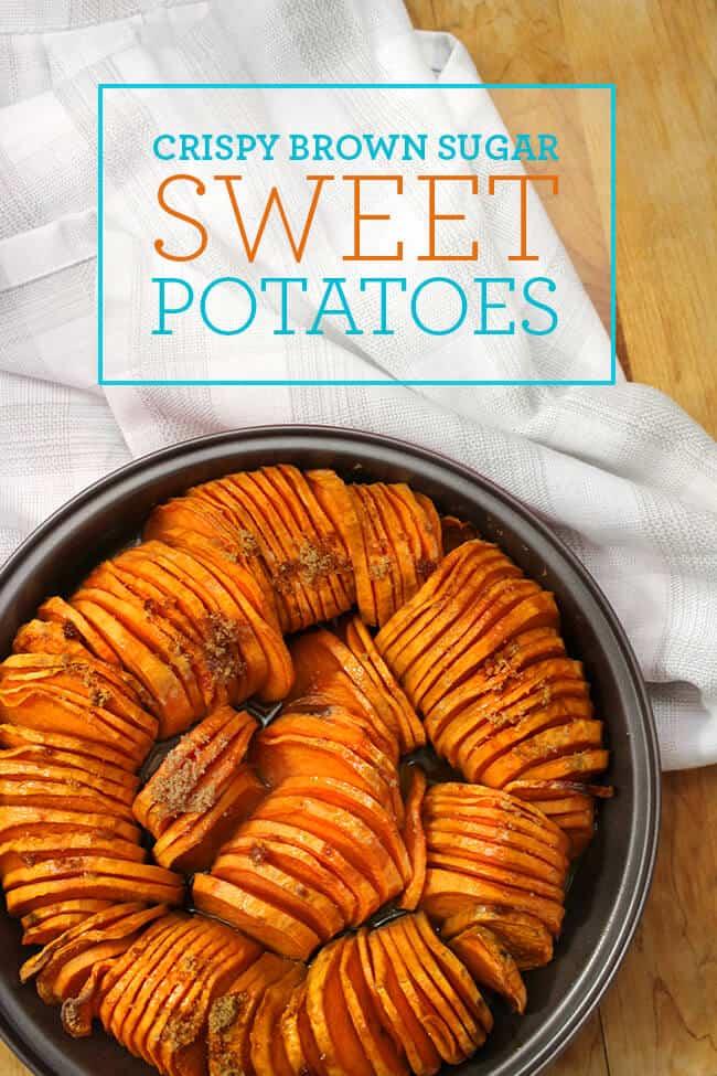 crispy brown sugar sweet potato recipe