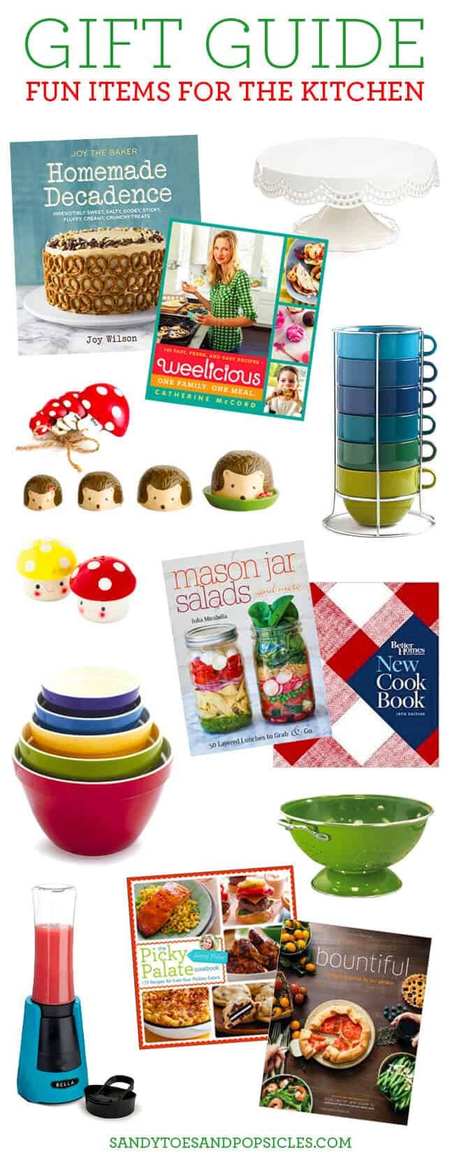 gift guide for kitchen cooks and bakers
