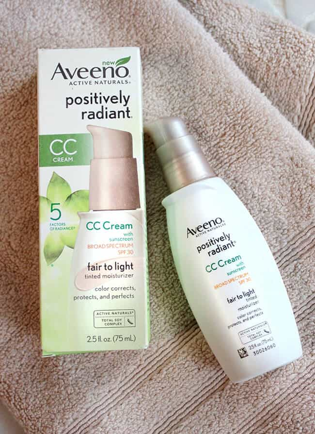 Aveeno Positively Radient Mosturizer