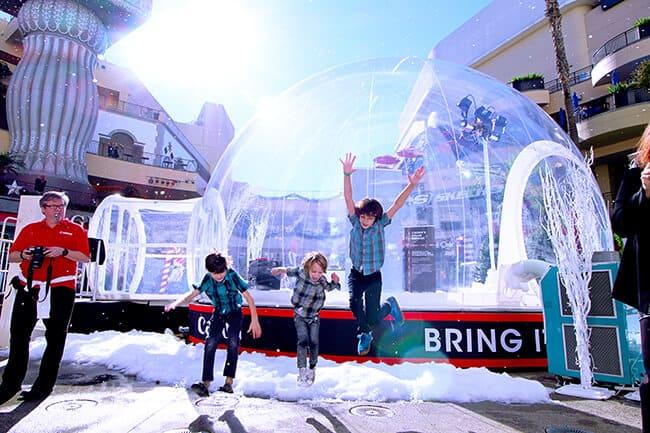 Canon Let it Snow Globe