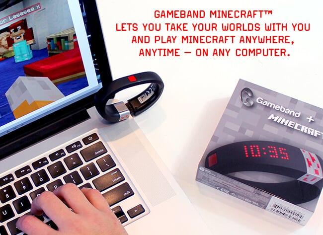 Gameband for Minecraft Gift