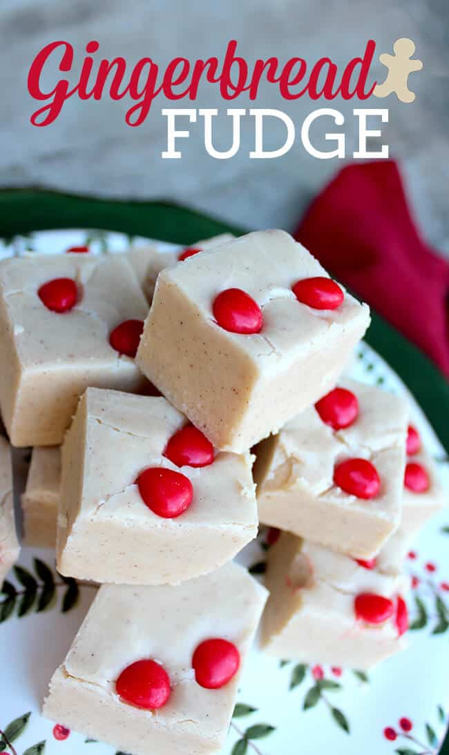 Gingerbread Fudge Recipe1