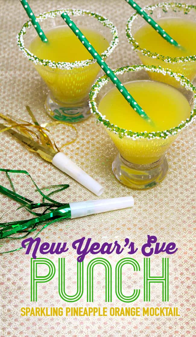 NYE Mocktail Punch