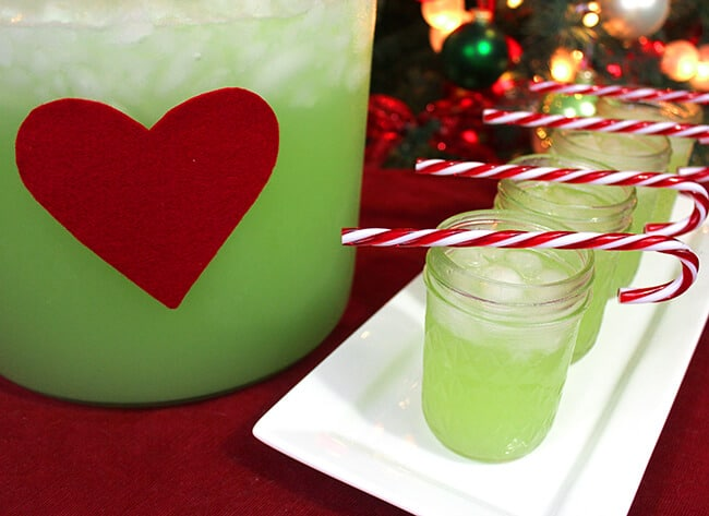 grinch juice punch