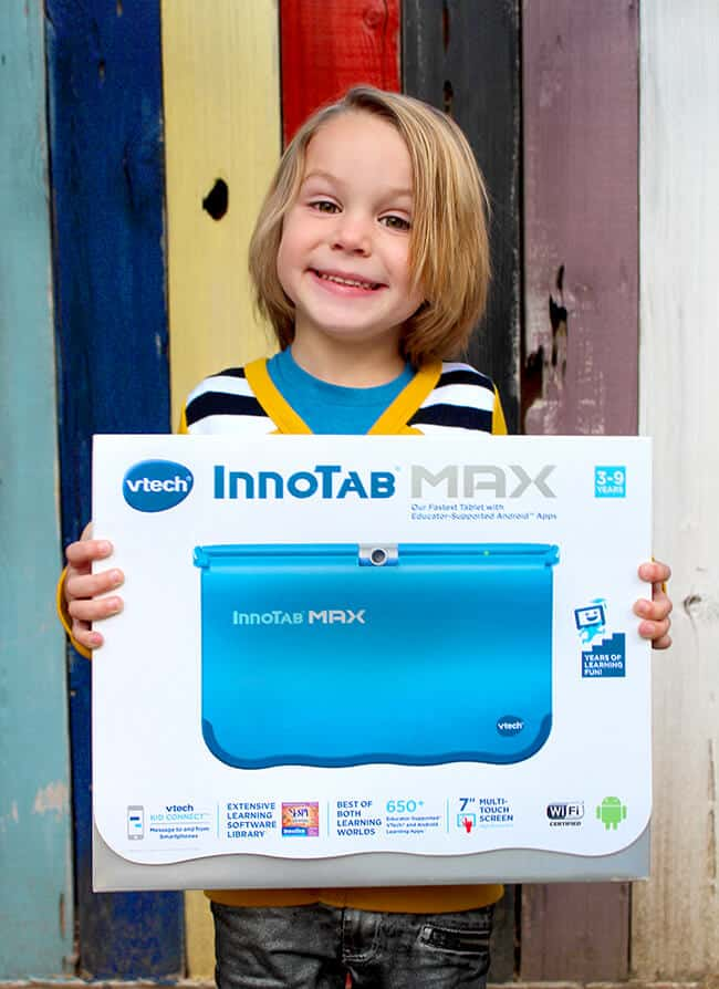 holiday gift innotab max Vtech review