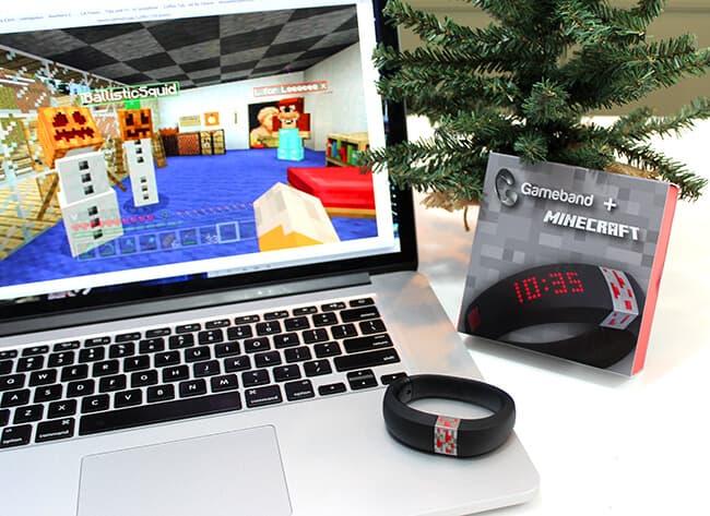 minecraft usb bracelet