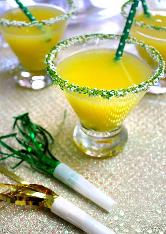 orange pineapple Christmas punch recipe