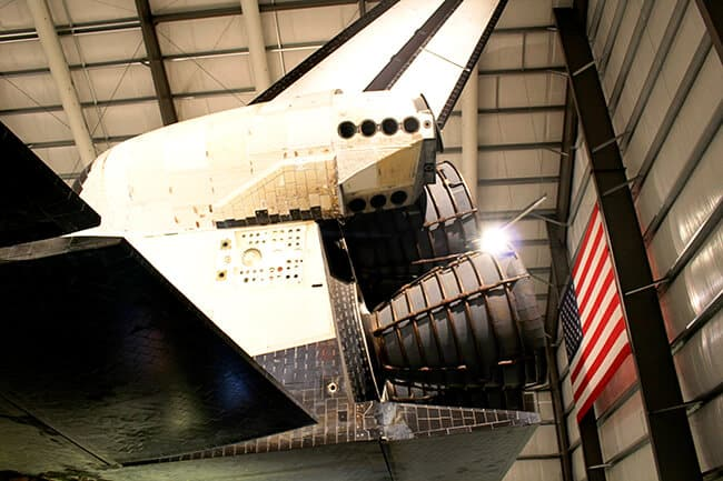 Best things to do in Los Angeles Endeavor Space Shuttle