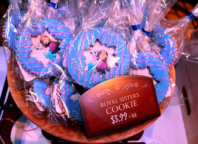 California Adventure Frozen Cookies