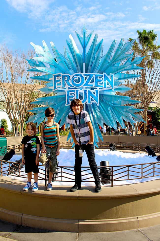 California Adventure Frozen Fun Tips