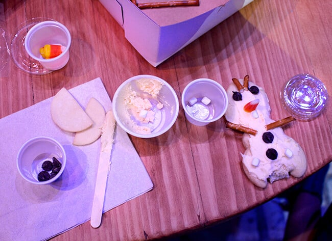 California Adventure Frozen Olaf Cookies