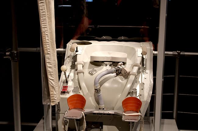 Endeavor Space Shuttle toilet