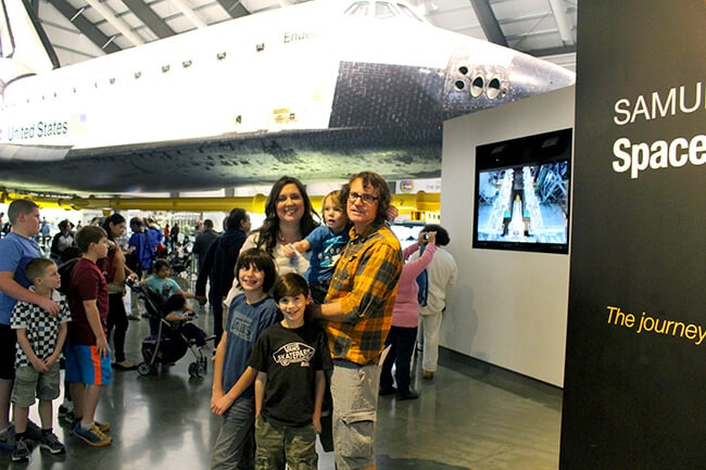 Free things to do in Los Angeles Endeavor Space Shuttle