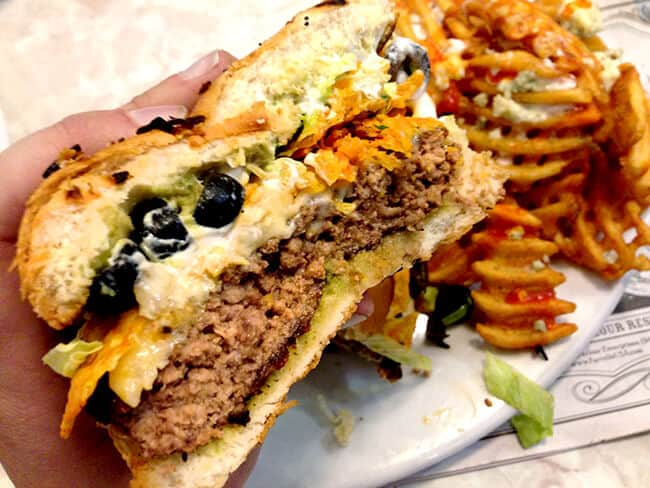 farrells-seven-layer-dip-burger