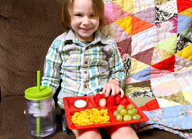 goldfish crackers toddler snack