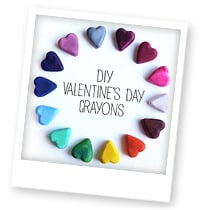 How to Make Valentine Crayons