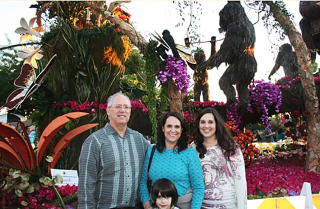 where to see the Rose Parade Floats 1