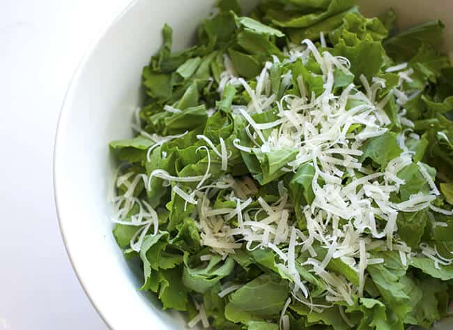 How to Make Rapini Parmesan Salad