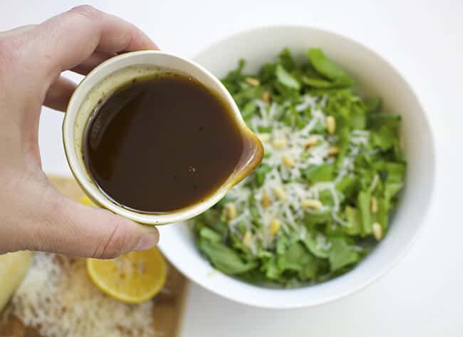 Lemon Balsamic Dressing