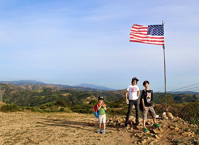 Anaheim Hills California Hiking Spot