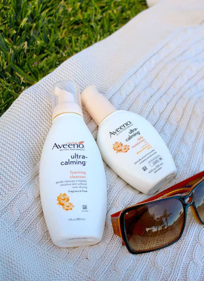 Aveeno Hypoallergenic skin care