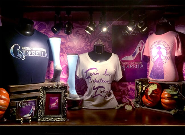 Cinderella the Musical Ahmanson Merchandise