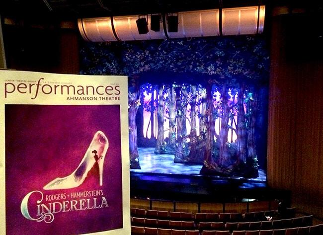 Cinderella the Musical Ahmanson Theater