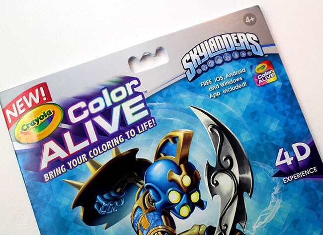 Crayola Color Alive Books 4D 1