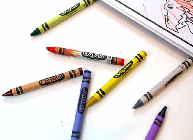 Crayola New Colors