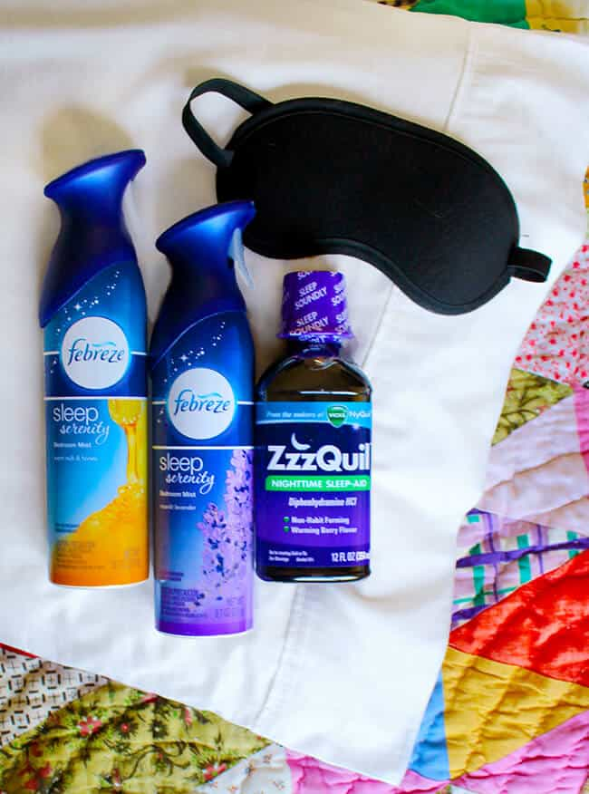 Febreze and ZzzQuil Best Sleep Solutions