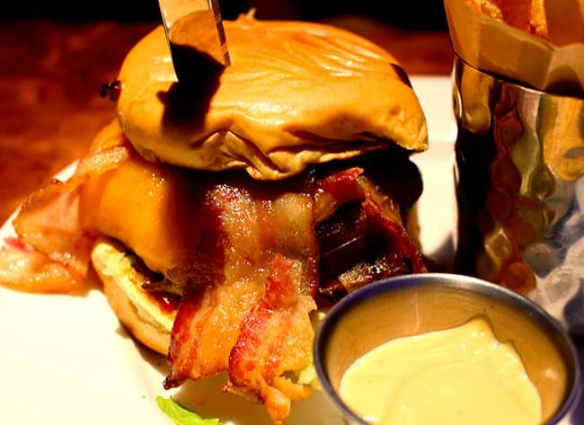 Hard Rock Cafe Best Bacon Burger