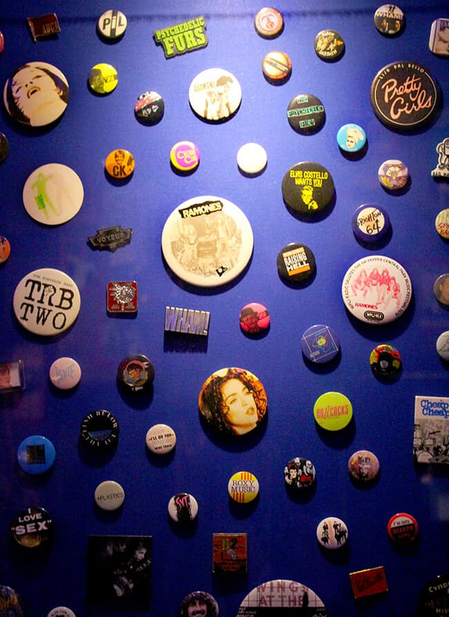 Hard Rock Cafe Concert Button Wall