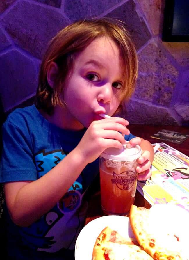 Hard Rock Cafe Healthy Kids Meal