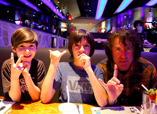 Hard Rock Cafe Hollywood Family Dining