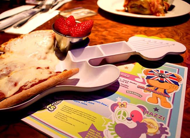 Hard Rock Cafe Hollywood Kids Meal