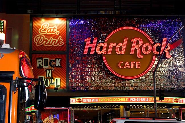 Hard Rock Cafe Hollywood Restaurant