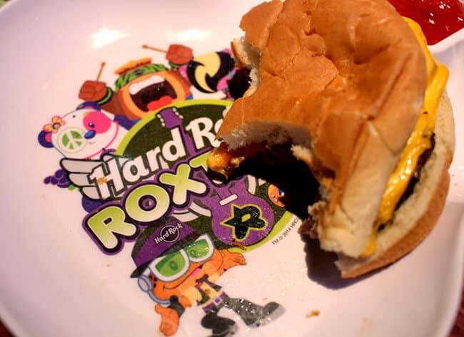 Hard Rock Cafe Kids Meal