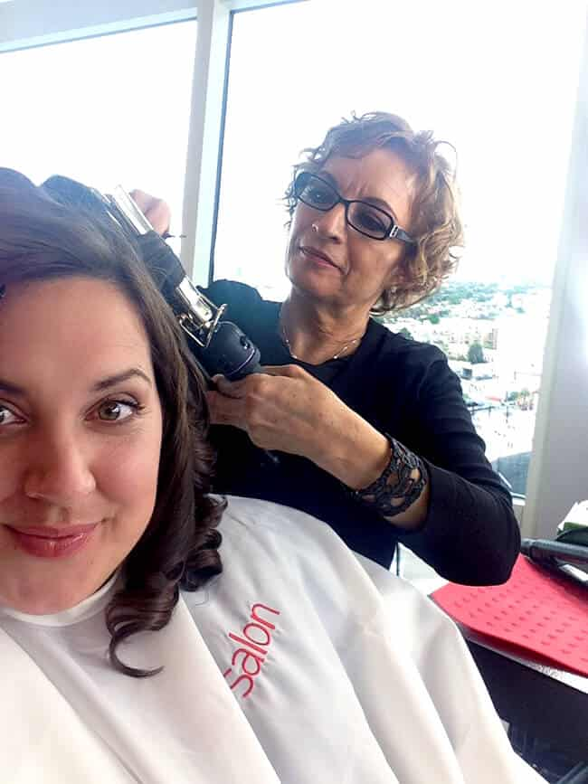 JC Penny Cinderella Event Hair #JCPCinderellaMoment