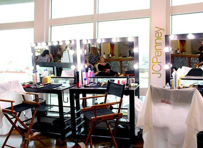 JC Penny Cinderella Event Salon #JCPCinderellaMoment