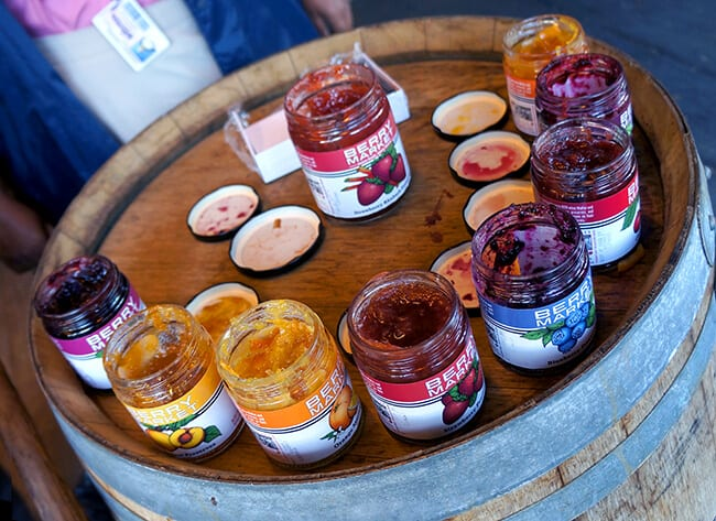 Knott's Berry Bloom_Jam tasting