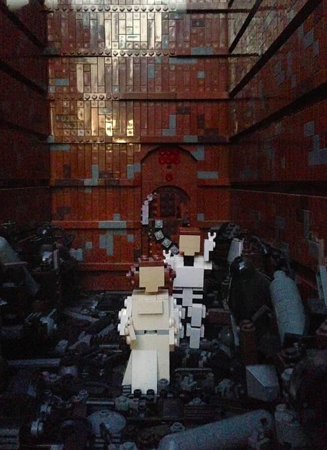 Legoland Death Star Miniland Features