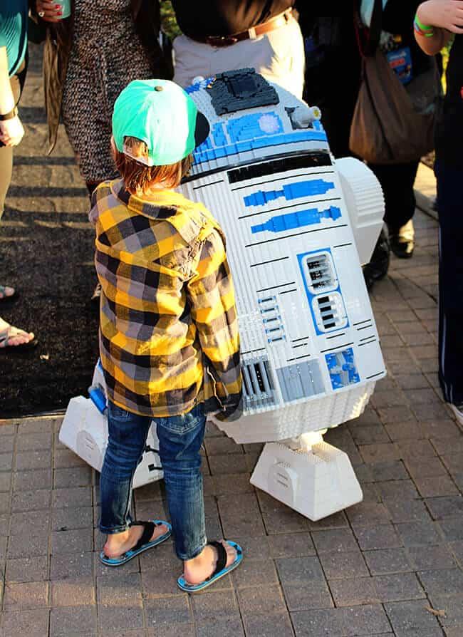 Legoland Star Wars Miniland R2D2