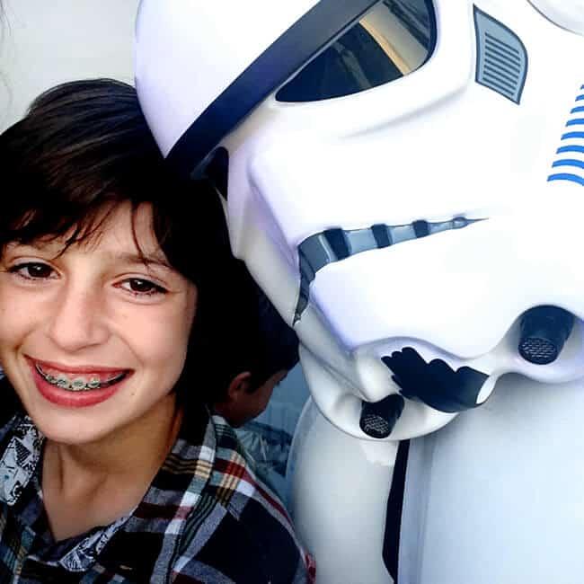Legoland Star Wars Selfie